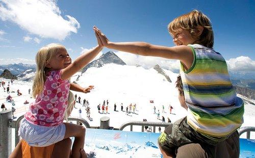 Familienurlaub Hintertuxer Gletscher