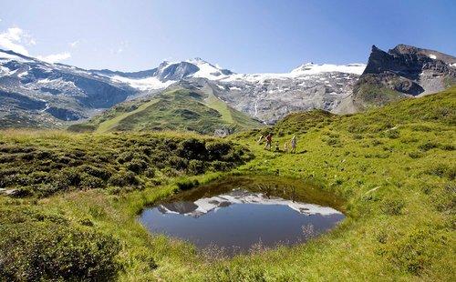 Wandern Bergsee